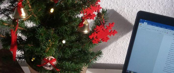 Masterarbeit unterm Tannenbaum – eine Weihnachtsgeschichte